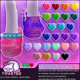 TOASTED // Glitter Dorcs Textures