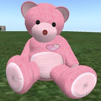 Musical Teddy Bear - Pink