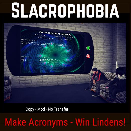 Slacrophobia [Moon Bunny Inc.]