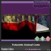 [MC] Futuristic Animal Crate  (wear to unpack)