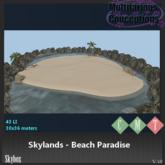 [MC] skylands beach paradise