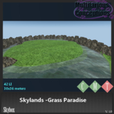 [MC] skylands grass paradise