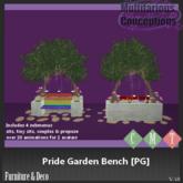 [MC] Pride Garden Bench [PG](wear to unpack)