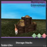 [MC] Storage Stacks (wear to unpack)