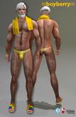 boyberry Pride Tagged Bikini