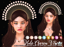 HALO CROWN V2 - WHITE QUEEN