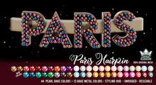 PARIS HAIRPIN - WHITE QUEEN