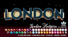 LONDON HAIRPIN - WHITE QUEEN