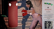 SH Poses  Poses Boxing Girl