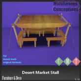 [MC] Desert Market Stall (wear to unpack)