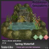 [MC] Spring Waterfall (wear to unpack)