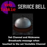 Ventalkie Service Bell