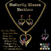 Ashira's Butterfly Kisses Necklace