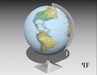 World Globe 001