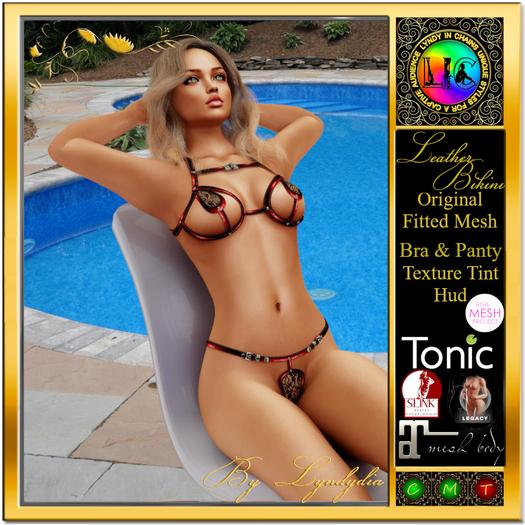 Leather Bikini
