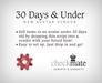checkMATE - 30 Days & Under Vendor Script (BOXED)