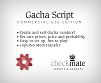 checkMATE - Gacha Commercial Script (BOXED)