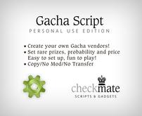 checkMATE - Gacha Personal Script (BOXED)