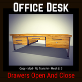 Office Desk [Moon Bunny Inc.]