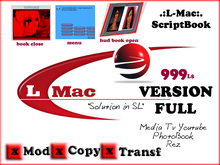 .: PHOTO BOOK .:.Script Book V3 -  MOD/COPY/TRANS - FULL PROMOTION TIME LIMITE 999 FOR 599