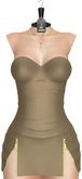 JF Design - Britney Dress/Panty/Necklace - Tan