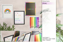 Sway's [Pride] Picture Frame