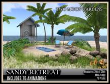 TMG - SANDY RETREAT* Small Beach Landscape