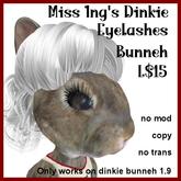 Miss Ing's DInkie Eyelashes Bunneh BOM