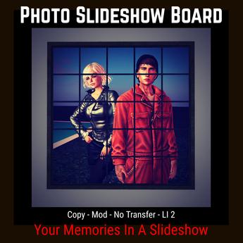 Photo Slideshow Board [Moon Bunny Inc.]