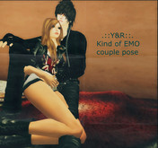 .::Y&R::. Kind of EMO couple pose(boxed) Promo price~