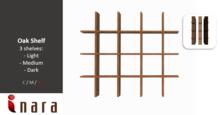 [ID] Oak shelf - Medium