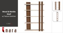 [ID] Wood & Marble Shelf w/ Textures Switcher - V6