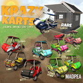 MadPea Krazy Karts - Polka Dots
