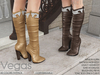 -KC- VEGAS COWGIRL BOOTS / 60 COLORS FATPACK