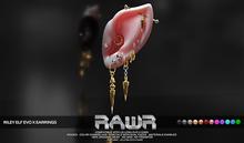 RAWR! Riley Earrings ELF EvoX (add me)