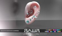 RAWR! Delicate Earrings HUMAN EvoX (add me)