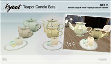 Kyoot Home - Teapot Candle Set 2