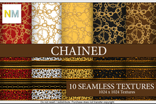 Chained Patterns Kit 10 Seamless Textures NM