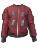"""TD"" Shell Bomber Jacket  [Red] Gianni, Legacy"