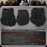 D1-MTG Integrated Ballistic Vest- Black
