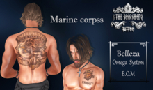 TSB ::: Tattoo Marine corpss