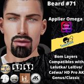 #TS# Beard #71 BOM - Lel Evo/Catwa HD Pro/AK/ Classic