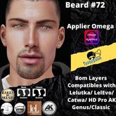 #TS# Beard #72 BOM - Lel Evo/Catwa HD Pro/AK/ Classic