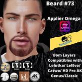 #TS# Beard #73 BOM - Lel Evo/Catwa HD Pro/AK/ Classic