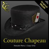 CC Gambler Short Top Hat (Black)