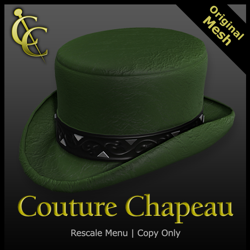 CC Deadwood City Top Hat{Green} (Boxed)