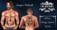 TSB ::: Tattoo Angry Pitbull