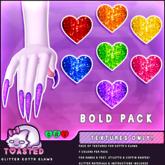 TOASTED // Glitter Kottr Klaws - BOLD pack