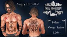 TSB ::: Tattoo Angry Pitbull 2