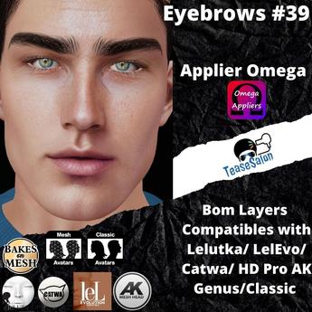 #TS#  Eyebrows #39 BOM - Lel Evo/Catwa HD Pro/ Classic